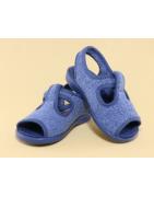 Calzado casero para niño